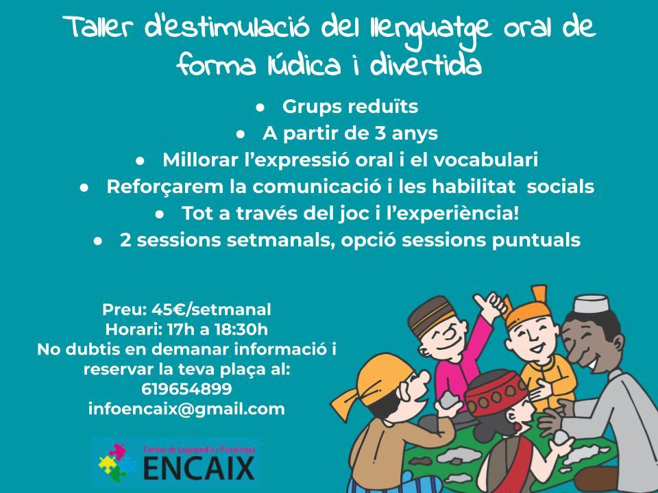 Publi taller estimulació del llenguatge
