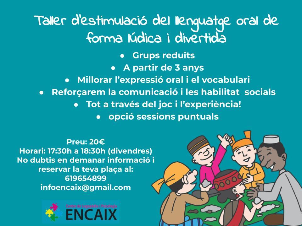 taller estimulació del llenguatge divendres